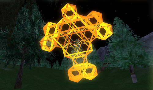 Geometry in Second Life