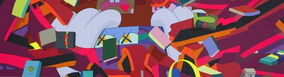 "KAWS (Brian Donnelly). ""Silent City,""2011. Photo courtesy High Museum of Art."