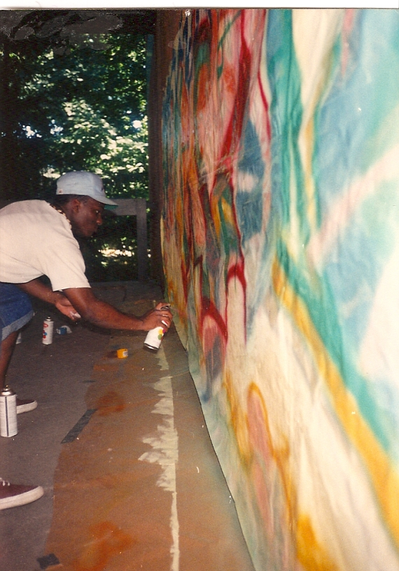 Summer Arts Institute at Rutgers University (circa 1989).