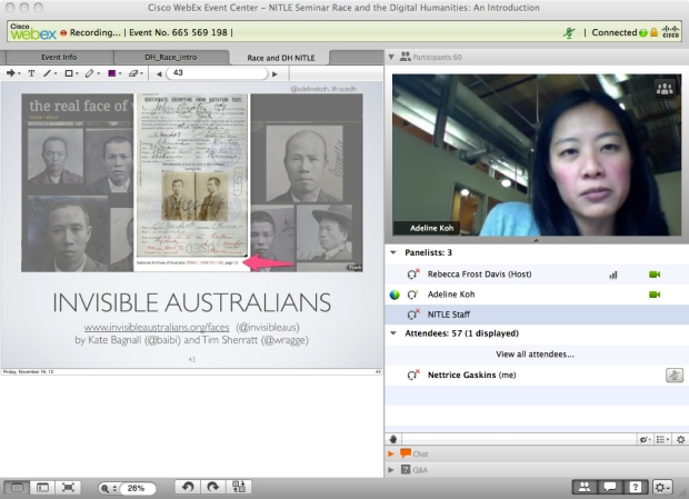 Allison Koh and Invisible Australia via online seminar.