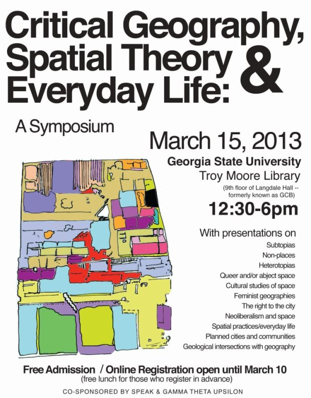 Official symposium flyer.