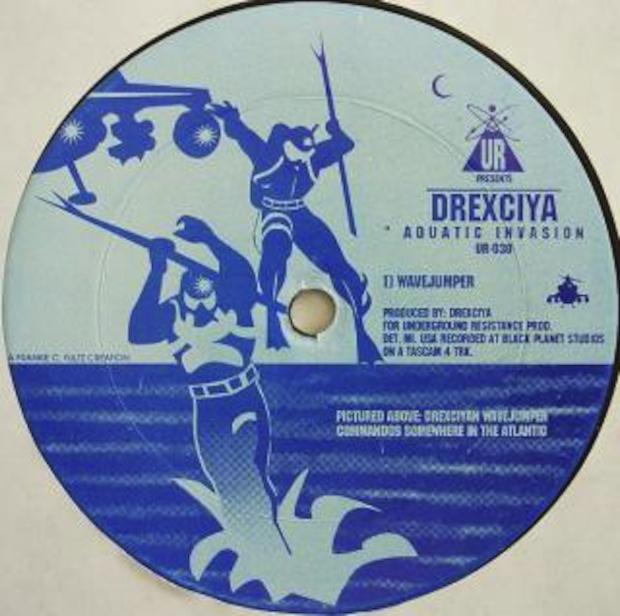 "Drexciya. ""Aquatic Invasion,"" 1994."