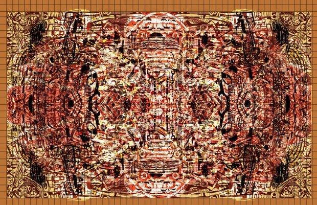 "John Jennings. ""SANKOFANATOR ZOX-1017,"" 2012. Courtesy the artist."