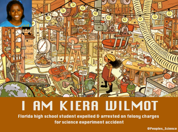 """I am Kiera Wilmot."" Courtesy People's Science: bodies and rights on the stem cell frontier."