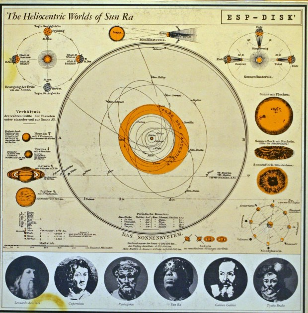 Sun Ra: His system was based at the center of the sun.
