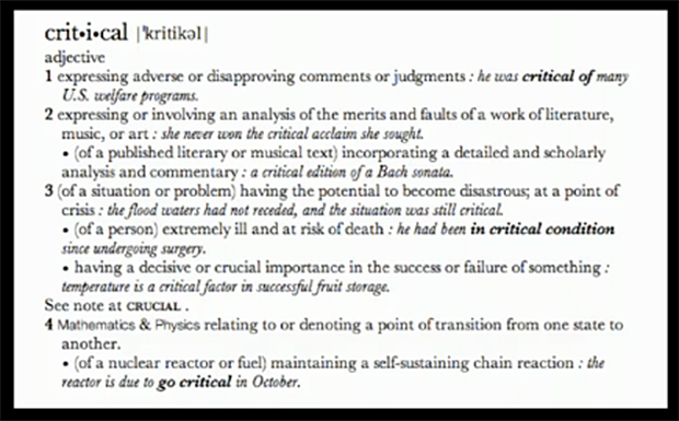 critical_defined